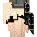 dřevohliníková okna IV96 SOFTLINE