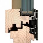 dřevohliníková okna IV96 INTEGRAL
