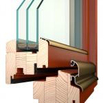 dřevěná okna Termookno IV84