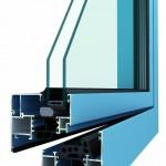 hliníková okna METALIC STANDARD