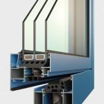 hliníková okna METALIC EXCLUSIVE