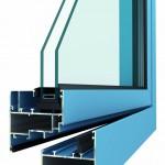 hliníková okna METALIC INTERIER